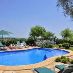 Ferienhaus Mallorca MA4293 - Poolterrasse mit Liegen
