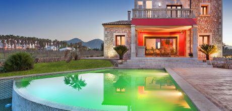 Mallorca Nordküste – Ferienhaus Alcudia 4389 mit Pool und Internet in Strandnähe (1,2km). Wechseltag Samstag – Nebensaison flexibel auf Anfrage, Mindestmietzeit 1 Woche.