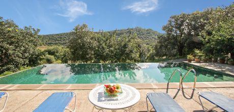 Mallorca Nordküste – Finca Pollensa 4391 mit Pool und Internet für 8 Personen. Wechseltag Samstag, Nebensaison flexibel auf Anfrage – 2018 jetzt buchen!