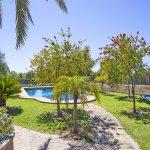 Finca Mallorca MA4170 Blick auf den Garten