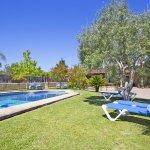 Finca Mallorca MA4170 Garten mit Swimmingpool