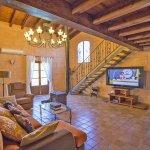 Finca Mallorca MA4170 TV im Wohnbereich