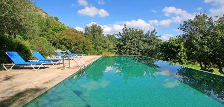 Mallorca Nordküste – Finca Pollensa 4391 mit Pool und Internet für 8 Personen. Wechseltag Samstag, Nebensaison flexibel auf Anfrage, gegen Aufpreis.
