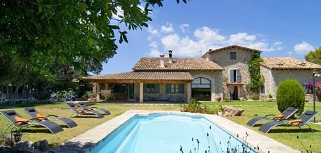 Mallorca Mitte – Komfort Finca Binissalem 4085 mit Pool, Grundstück 7.100qm, Wohnfläche 300qm. Wechseltag flexibel – Mindestmietzeit 1 Woche.