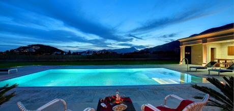Mallorca Nordküste – Deluxe-Villa Puerto Pollensa 43268 mit Pool in Meernähe, Strand 1,2km. An- und Abreisetag Samstag!
