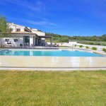 Villa Mallorca MA4167 Rasen um den Swimmingpool