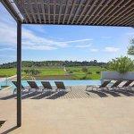 Villa Mallorca MA4167 Terrasse mit Blick auf den Pool