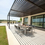 Villa Mallorca MA4167 Terrasse mit Gartenmöbeln