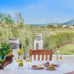 Villa Mallorca MA4293 Esstisch mit Meerblick