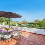 Villa Mallorca MA4293 Gartenmöbel auf der Terrasse