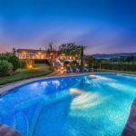 Villa Mallorca MA4293 Poolbeleuchtung am Abend
