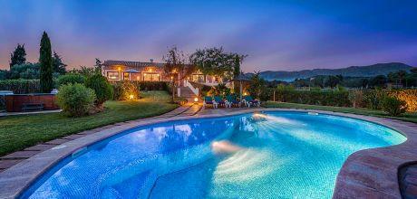 Mallorca Nordküste – Luxusferienhaus Puerto Pollensa 4293 mit Pool, Whirlpool und Internet. An- und Abreisetag Samstag.