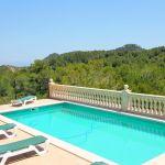 Ferienhaus Mallorca MA3965 Liegen am Pool