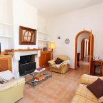 Ferienhaus Mallorca MA3965 Wohnbereich mit Kamin