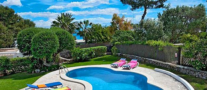 Ferienhaus Mallorca MA3990 - Sonnenliegen am Pool