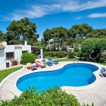 Ferienhaus Mallorca MA3990 Poolblick