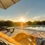 Ferienhaus Mallorca MA33183 - Sonnenuntergang am Pool