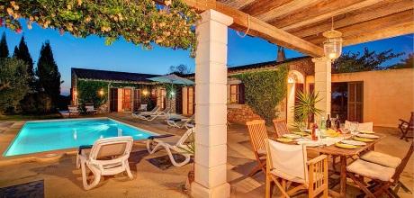 Mallorca Südostküste – Komfort Ferienhaus Felanitx MA33265 mit Pool in ruhiger Lage. An- und Abreisetag Samstag!