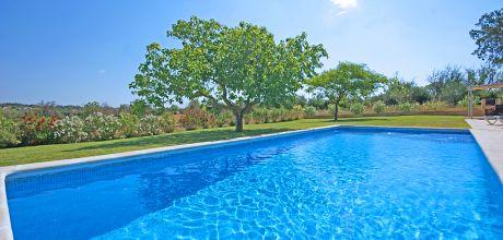 Mallorca Ostküste – Ferienhaus Manacor 3012 mit Pool, Grundstück 15.000qm, Wohnfläche 125qm. Wechseltag Samstag, Nebensaison flexibel – Mindestmietzeit 1 Woche