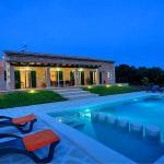 Ferienhaus Mallorca MA33183 - Hausansicht am Abend