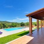 Ferienhaus Mallorca MA33183 - Panoramablick über den Pool