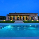 Ferienhaus Mallorca MA33183 - Pool am Abend