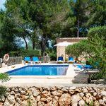 Ferienhaus Mallorca MA3879 Blick auf den Pool