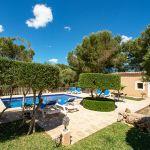 Ferienhaus Mallorca MA3879 Garten mit Pool