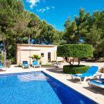 Ferienhaus Mallorca MA3879 Gartenmöbel am Swimmingpool