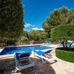 Ferienhaus Mallorca MA3879 Sonnenliegen am Pool