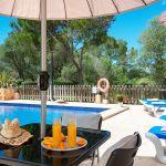 Ferienhaus Mallorca MA3879 Terrasse mit Esstisch