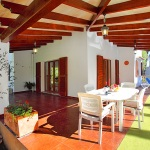 Ferienhaus Mallorca MA3880 - überdachte Terrasse