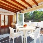 Ferienhaus Mallorca MA3880 - überdachte Terrasse (2)