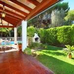 Ferienhaus Mallorca MA3880 -Rasenfläche