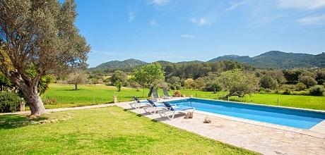 Mallorca Südostküste – Finca Felanitx 3015 mit Pool und Panoramablick, Grundstück 75.000qm, Wohnfläche 200qm. Wechseltag Samstag, Nebensaison flexibel – Mindestmietzeit 1 Woche