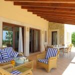 Mallorca Ferienhaus MA3925 Gartenmöbel auf der Terrasse