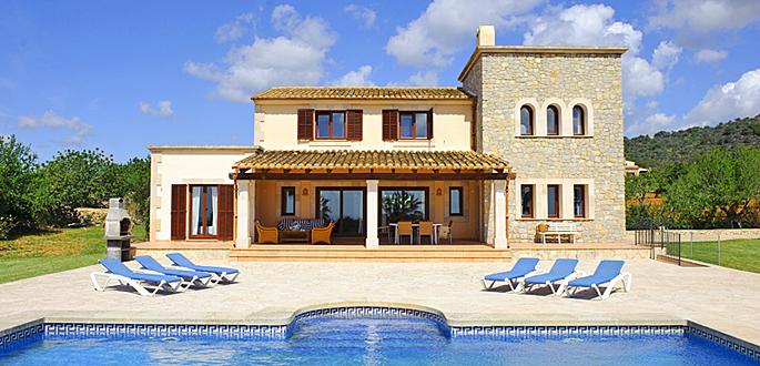 Ferienhaus Mallorca MA3925 - Sonnenliegen am Pool