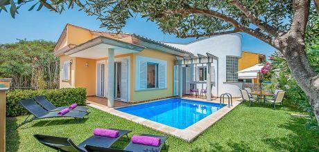 Mallorca Nordküste – Ferienhaus Alcudia 3174 mit Pool für 6 Personenin Strandnähe (ca. 500m), Wechseltag Samstag – Nebensaison flexibel.
