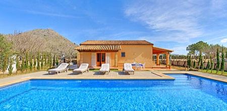 Mallorca Nordküste – Ferienhaus Puerto Pollensa 3566 mit Pool für 6 Personen, Strand 1,3km. Wechseltag Samstag, Nebensaison flexibel auf Anfrage.