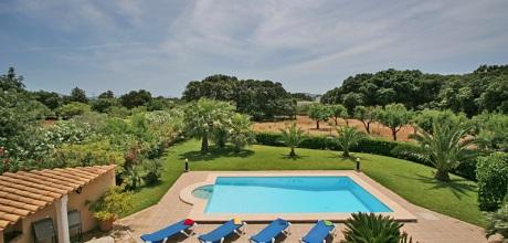 Mallorca Nordküste – Ferienhaus Pollensa 3722 mit Pool, Strand 4,6km, Grundstück 7.100qm, Wohnfläche 164qm. An- und Abreisetag nur Samstag.
