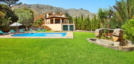 Mallorca Nordküste – Ferienhaus Cala Vicente 3560 mit Pool und schönem Ausblick, Strand 2,8km, Grundstück 36.000qm, Wohnfläche 130qm. An- und Abreisetag nur Samstag. 2018 jetzt buchen!