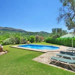 Finca Mallorca 3560 - Blick auf den Garten