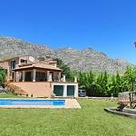 Finca Mallorca 3560 - Garten mit Oleander