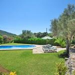 Finca Mallorca 3560 - Garten mit Pool (2)