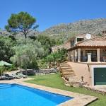 Finca Mallorca 3560 - Liegen am Pool