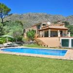 Finca Mallorca 3560 - Rasen um den Pool