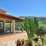 Finca Mallorca 3560 - Terrasse mit Ausblick