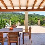 Finca Mallorca 3560 - Terrasse mit Ausblick (2)