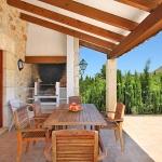 Finca Mallorca 3560 - Terrasse mit Grill