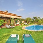 Finca Mallorca MA3530 Pool im Garten
